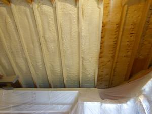 Spray Foam Insulation Installed In Spring Valley